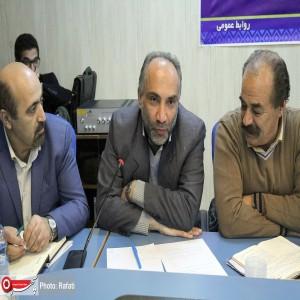 نشست خبری مدیرکل فرهنگ و ارشاد اسلامی استان همدان