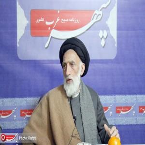 حضور آیت الله موسوی اصفهانی نماینده مردم استان در مجلس خبرگان رهبری در دفتر روزنامه